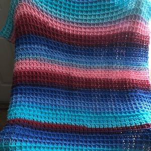 Hoth baby blanket